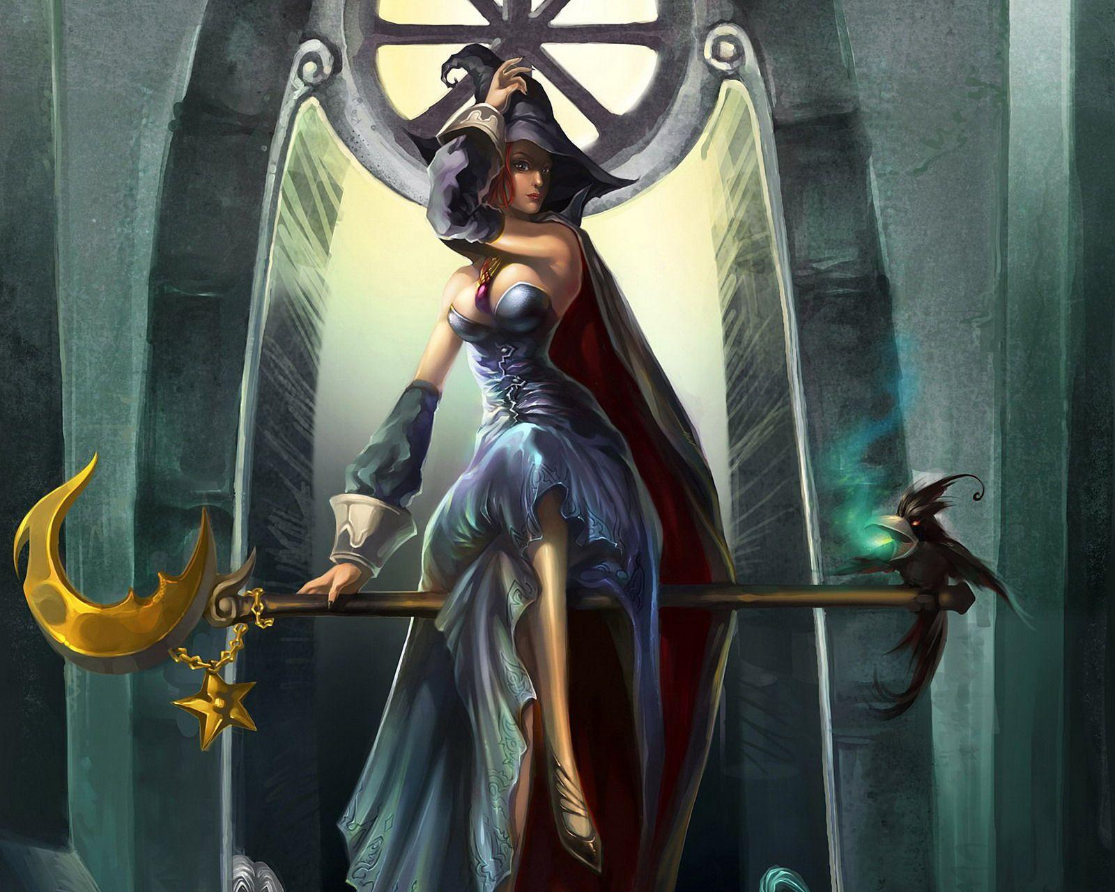 fantasy witch wallpaper fantasy pinterest fantasy