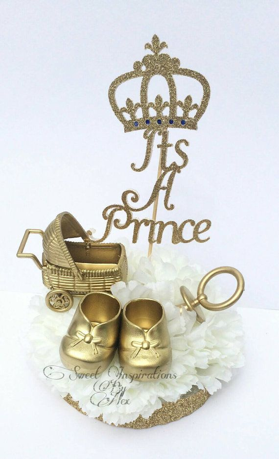 royal prince baby shower | white baby showers, blue gold and royal, Baby shower invitations