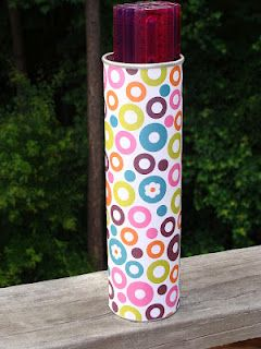 @Heather Duffy, you can do this for your classroom!  Pringle container for rulers.