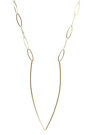 Modern Jewelry   RINJUEL V FORM necklace Simple sculptural - statement form