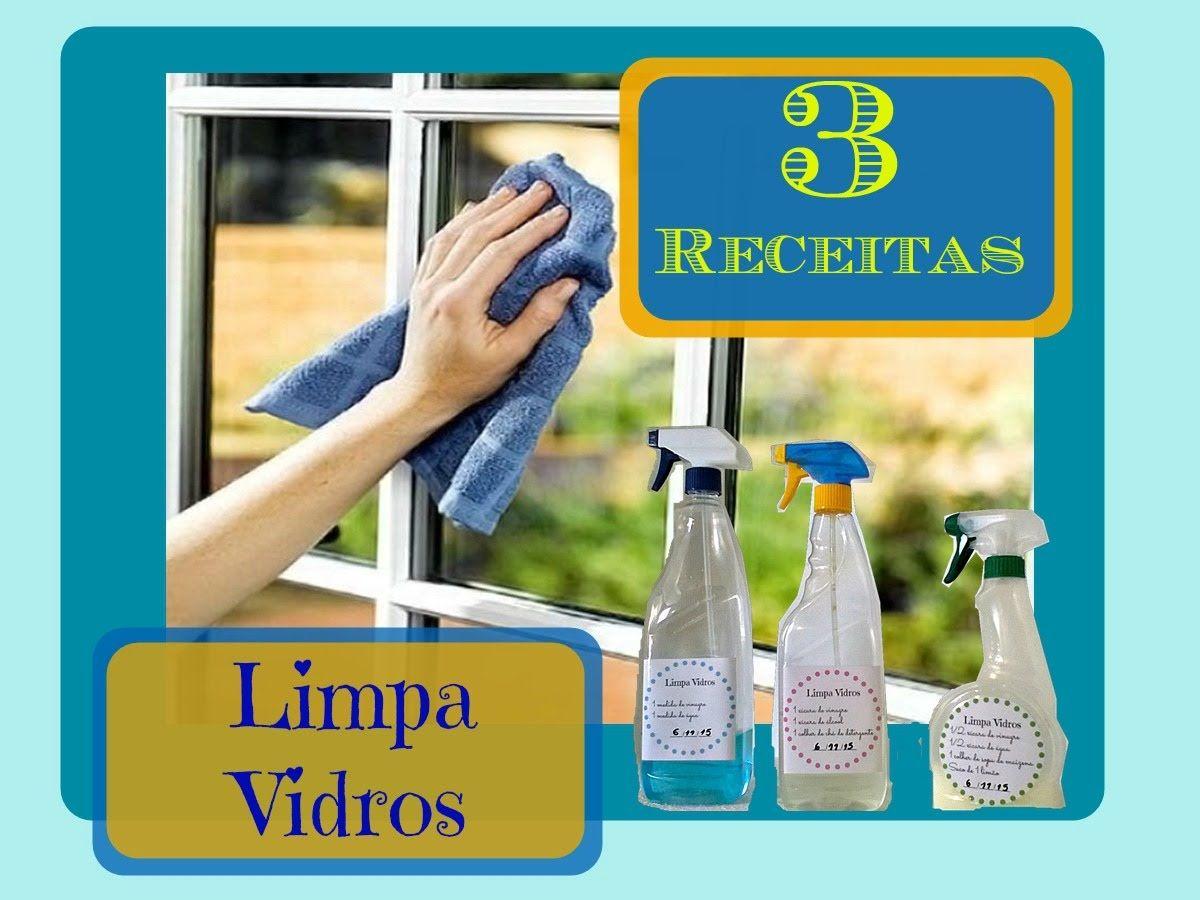3 Receitas De Limpa Vidros E Dicas Extras Para Deixar Os Vidros