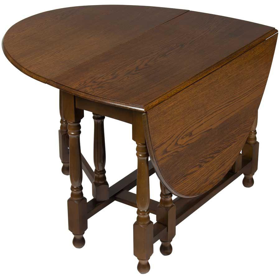 Oak Antique Gate Leg Side Table Drop Leaf Table Table Antique
