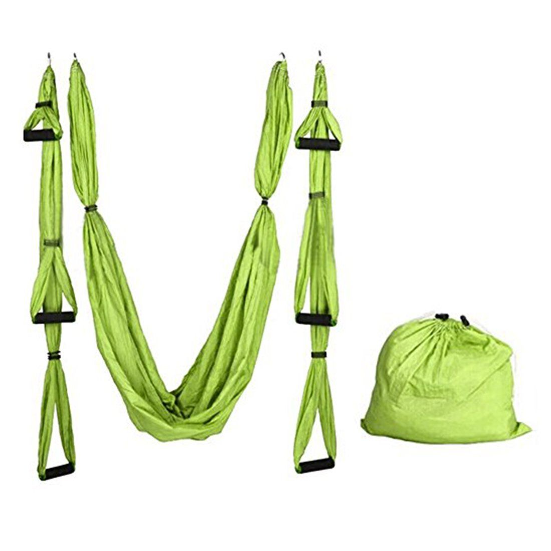 Deluxe yards elastic decompression inversion therapy yoga swing