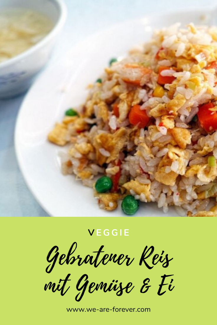 Photo of Recipe: Fried rice with egg and vegetables – easy and quick
