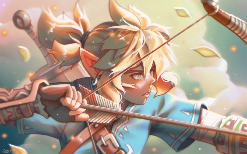 Breath of the Wild by Zaphk.deviantart.com on @DeviantArt