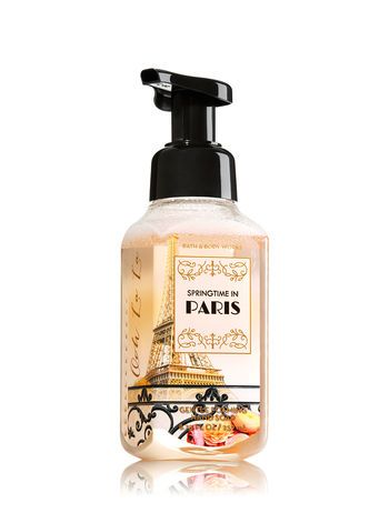 Springtime In Paris Gentle Foaming Hand Soap Bath And Body Works