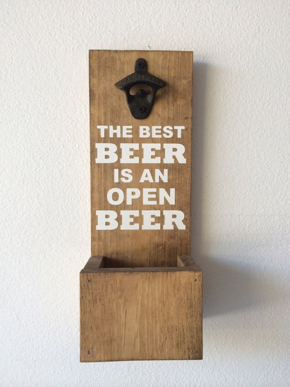 Wall Mounted Bottle Opener With Cap Catcher The Best
