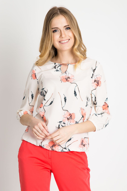 Modne Bluzki Damskie 2014 Koszula Czarna Damska Tanie Bluzki Damskie Xxl Koszula Dluga Bluzki Na Lato Damskie 20 Long Sleeve Blouse Floral Tops Fashion