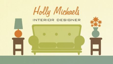 Interior designer retro green living room sofa business cards http interior designer retro green living room sofa business cards http zazzle reheart Gallery