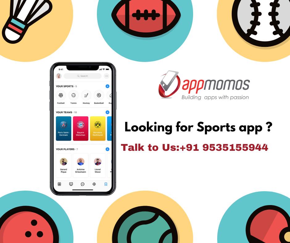 Sport App Development Company in 2020 Mobile app
