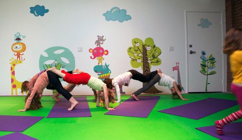 Wall Decals For Kids Spaces Classroom Gym Church Doctors Office - Yoga studio wall decals