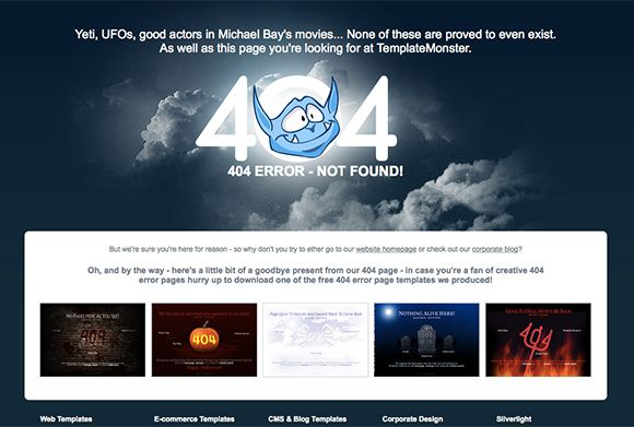 20 Creative Examples of 404 Error Pages to Inspire You Creative - resume yeti