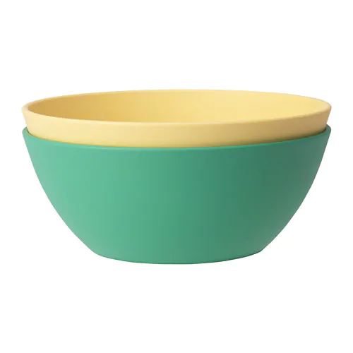 Heroisk Bowl Green Yellow 5 Ikea Green Yellow
