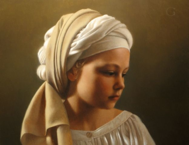 David Gray Figure Painting Classical Realism Contemporary Oil