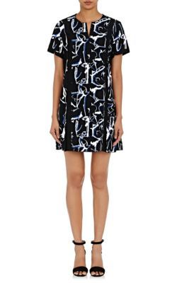 Abstract Printed Cady Dress Fall/winter Proenza Schouler JDSasGL