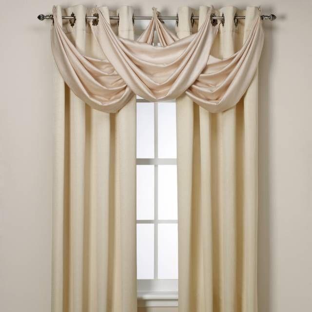 Spellbound Pinch Pleat Rod Pocket Lined Window Curtain Panel