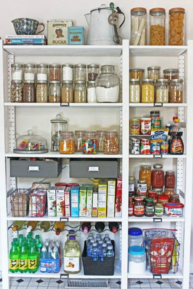 Add More Pantry Space With These Brilliant Hacks Pantry shelving