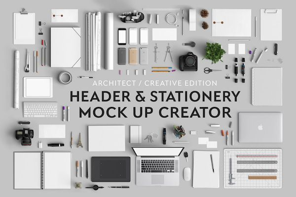 your clients are gonna drool over this header stationary mock up