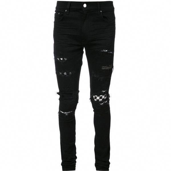 new images of many styles where to buy Amiri art patch skinny #jeans ($2,142) ❤ liked on Polyvore ...