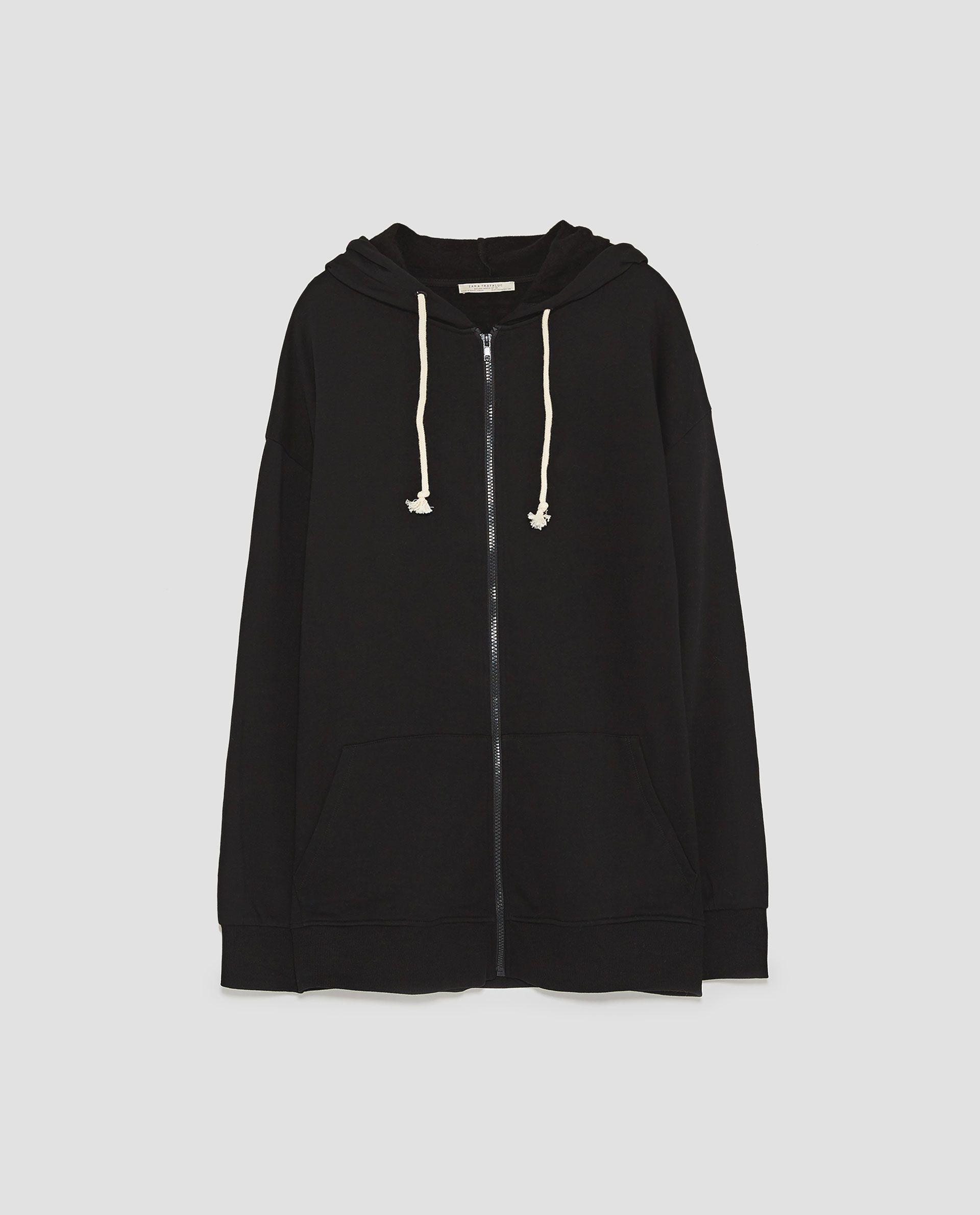 style distinctif code promo meilleures chaussures Image 8 de SWEAT À CAPUCHE de Zara | achats | Nike jacket ...