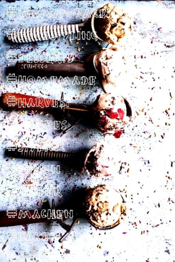 Chum Ice Cream  Food  Food Styling   ragekitchen selber machen ice cream cream cream cake cream design cream desserts cream recipesNo Chum Ice Cream  Food  Food Styling...