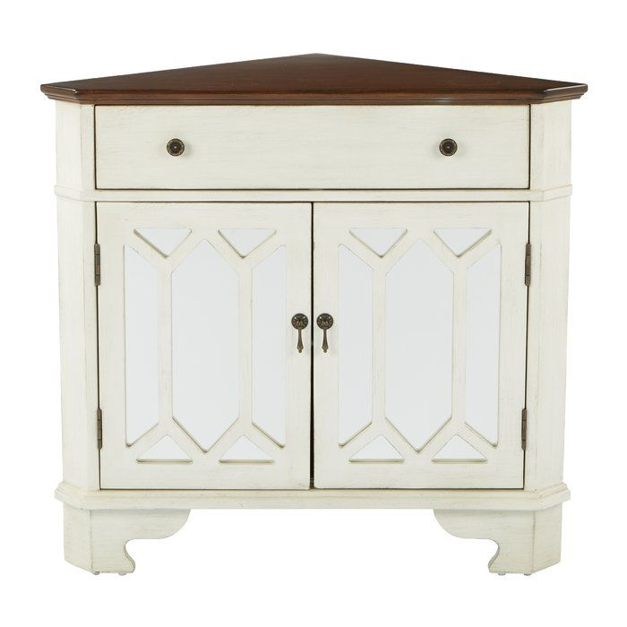 Hardyston Corner Storage 1 Drawer 2 Door Accent Cabinet Corner Storage Cabinet Accent Cabinet
