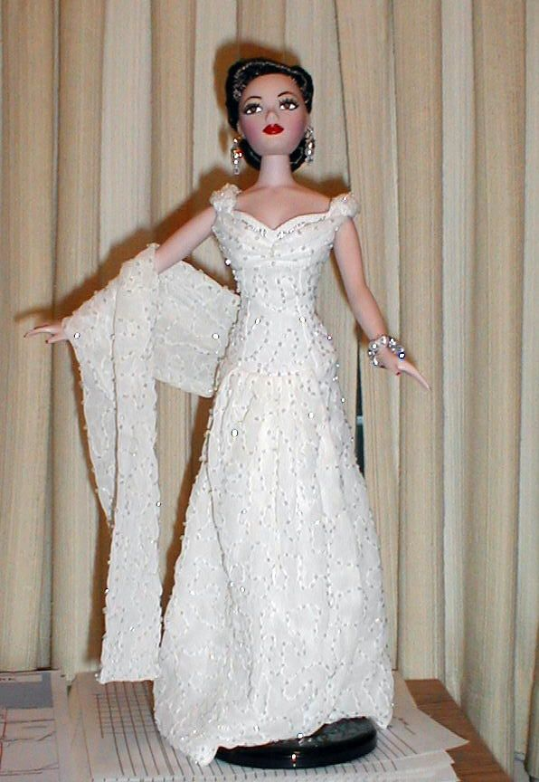 AD Gene Marshall ~ Tulsa gown by Becky Geis ~ Repaint by Ken Bartran ...