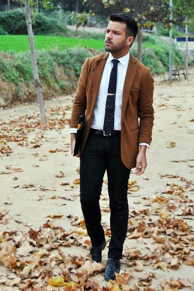 Mens Brown Blazer Outfit | Fashion Ql