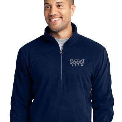 U.S. Navy Custom Embroidered Fleece Jacket ...