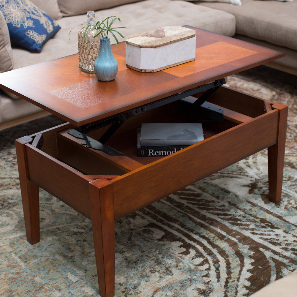 Turner Lift Top Coffee Table Oak Tables At Hayneedle