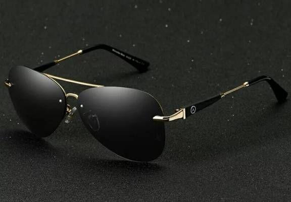 Óculos de sol Mercedes-Benz com lentes polarizadas e proteção 100% uv400.  com 48158efaa3