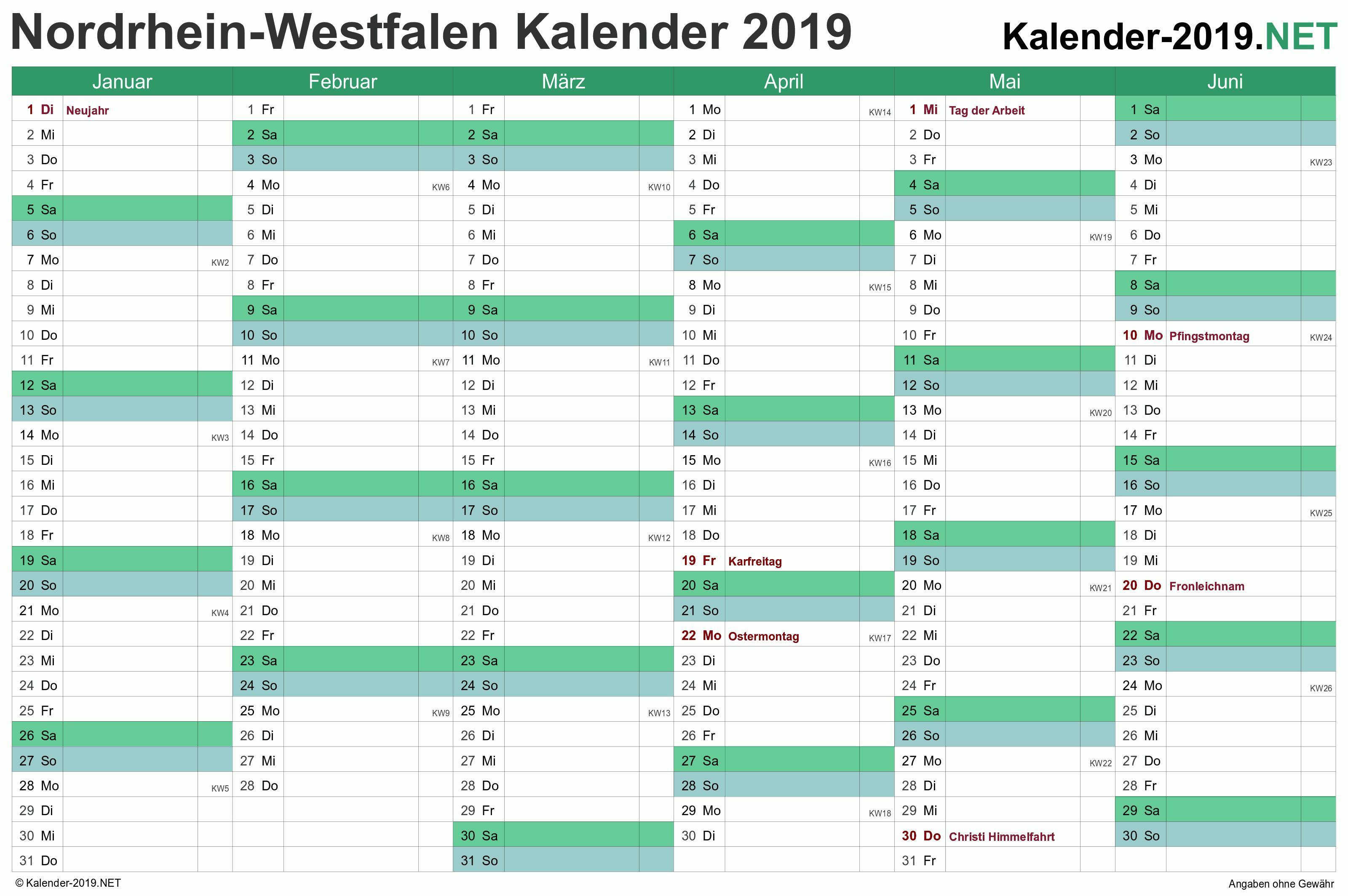 Nordrhein Westfalen Kalender 2019 Mit Feiertagen Kalender 2018 Kalender Vorlagen Kalender Feiertage