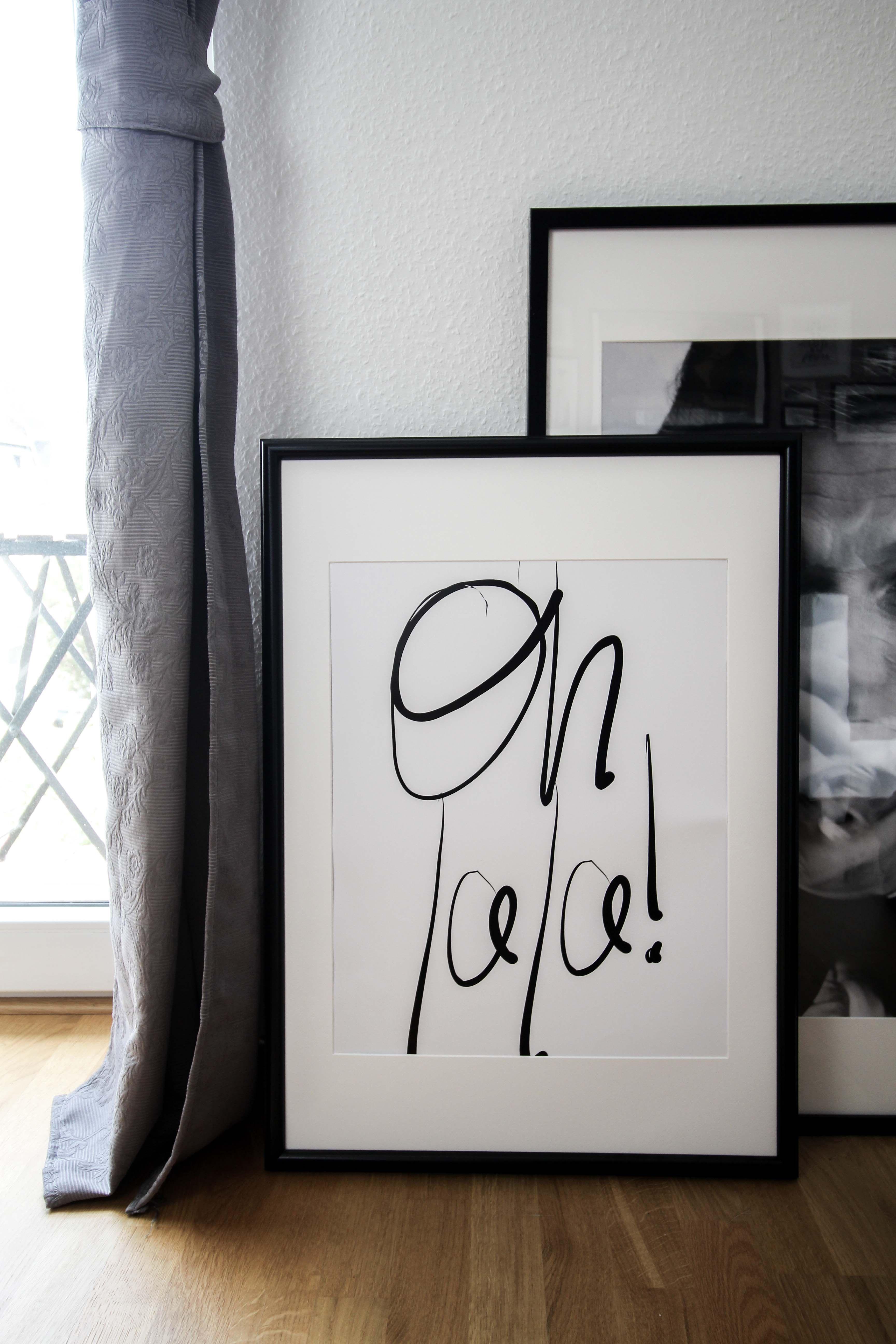 Interior Update | Minimalistische Schwarz/Weiß Fotografie & Bilder #wohnzimmerideenwandgestaltung