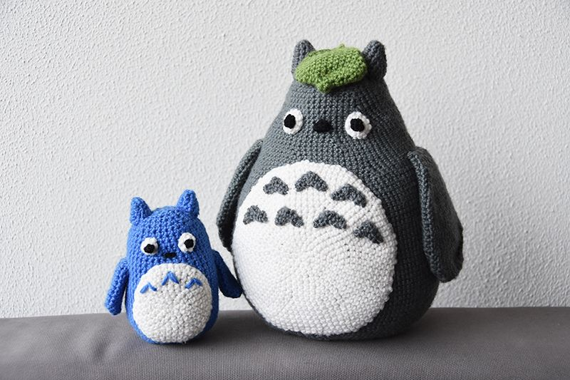 Amigurumi Totoro : Recently i made a very cute totoro as a maternity present for a