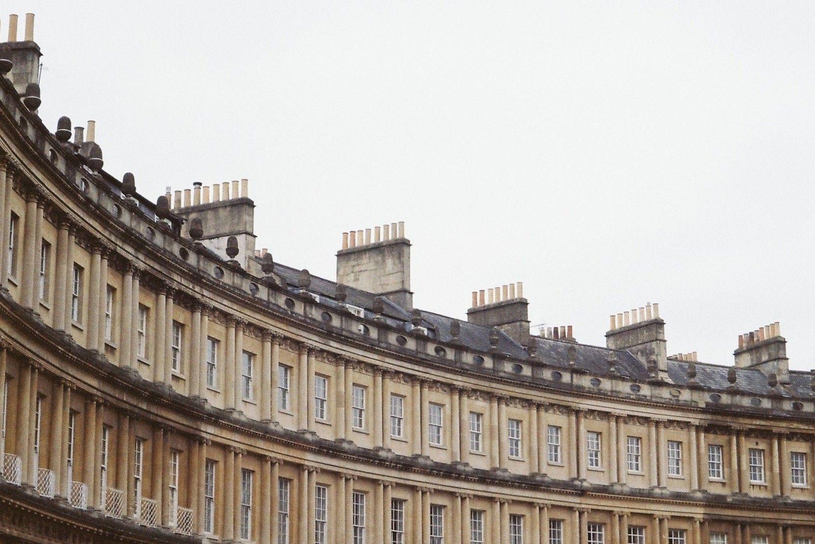 bath, royal crescent bath. bath architecture, bath photography