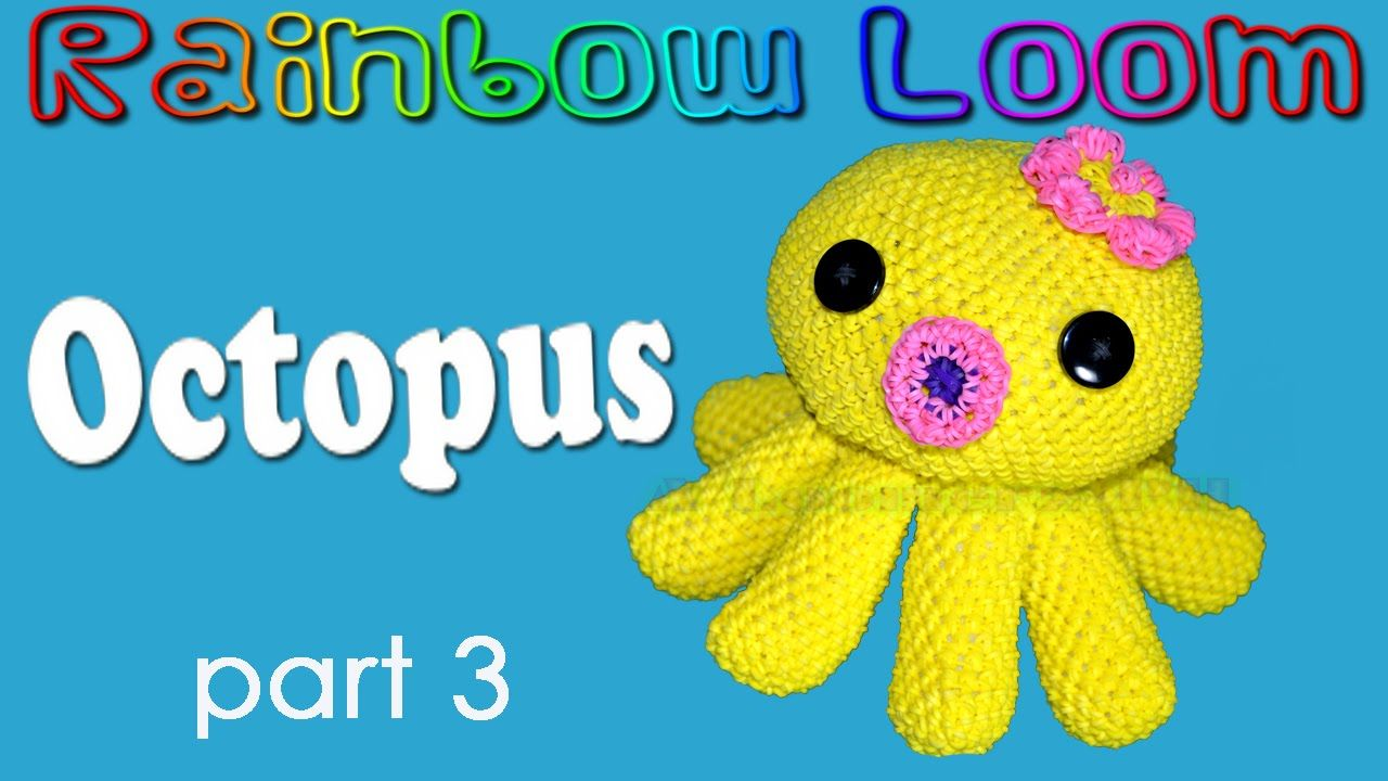 Rainbow Loom Octopus - Part 3/4 Funnel and other parts