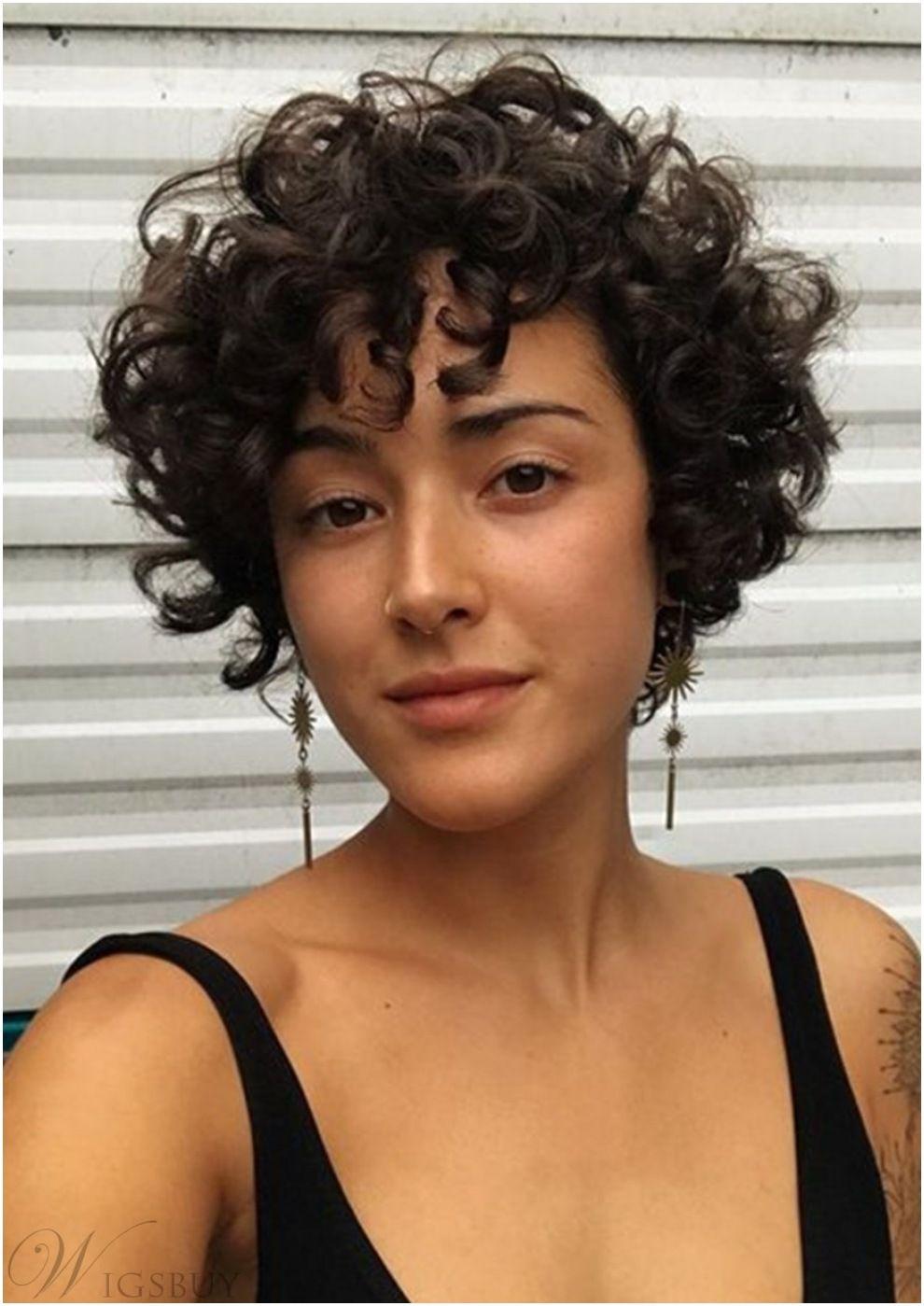 Short Kinky Curly Synthetic Hair Women Wigs 10 Inc