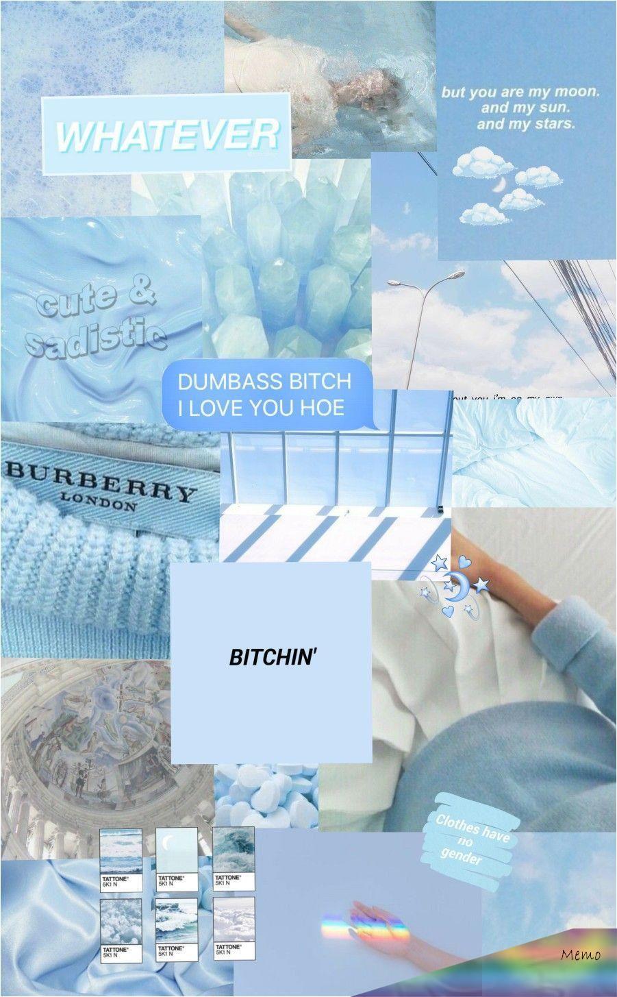 Soft Blue Aesthetic Wallpaper List Of New Blue Wallpaper For Smartphones This Month En 2020 Fond D Ecran Colore Fond D Ecran Telephone Pastel Esthetique