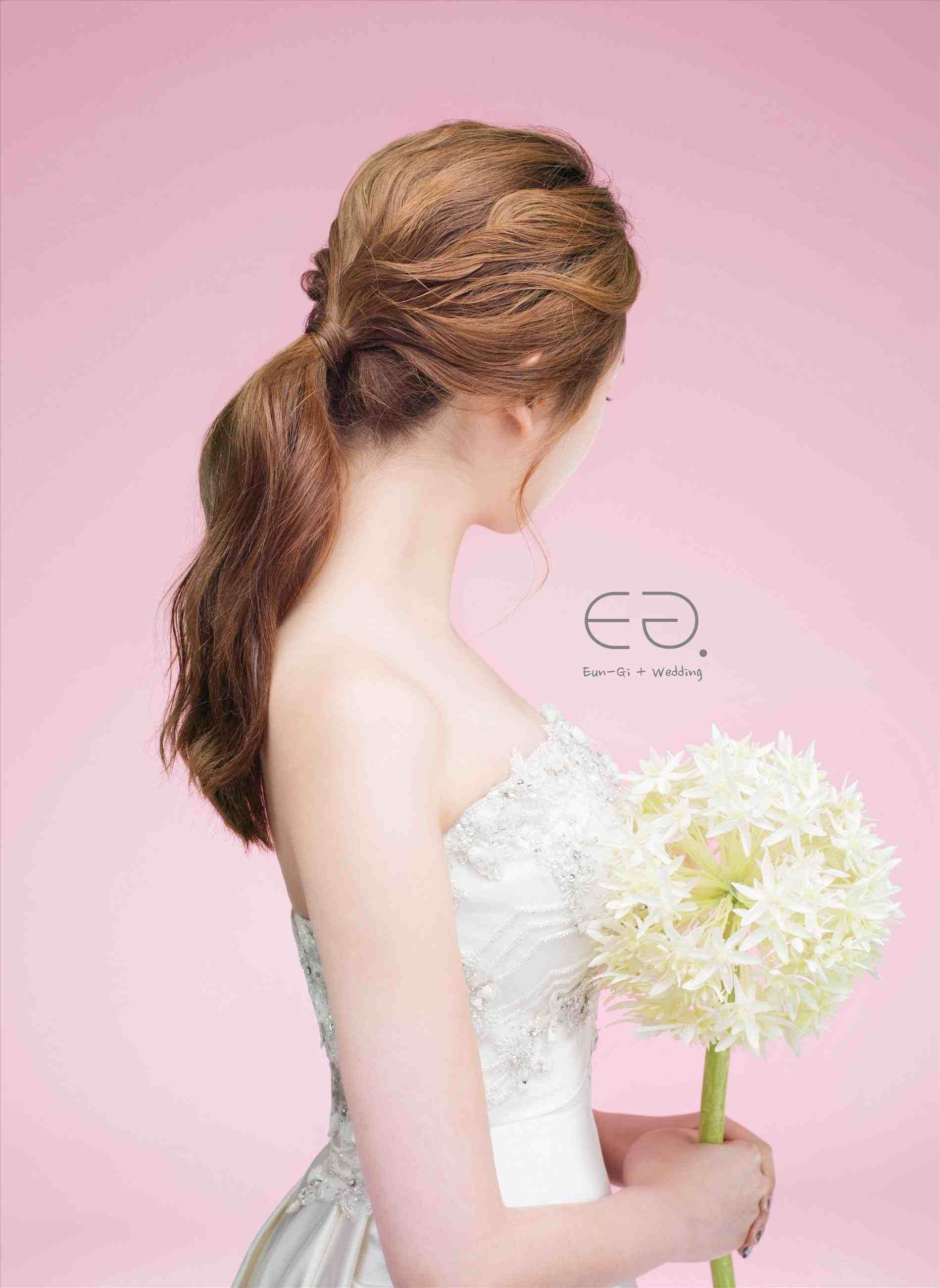 Korean Hairstyle For Bridesmaid Hair Stylist And Models Wedding