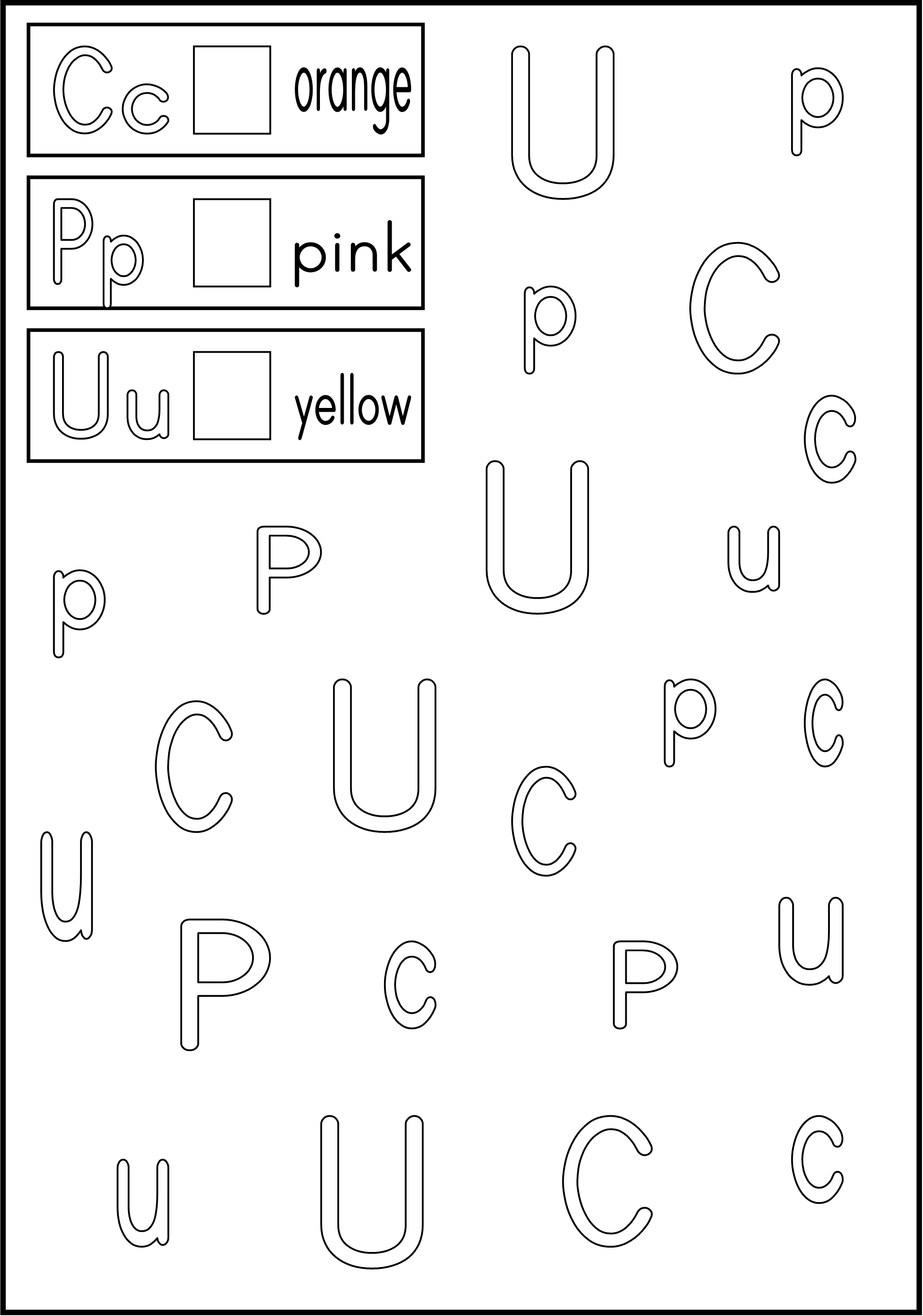 Worksheets Alphabet Recognition Worksheets kidstv123 com alphabet worksheets teaching ideas pinterest worksheets