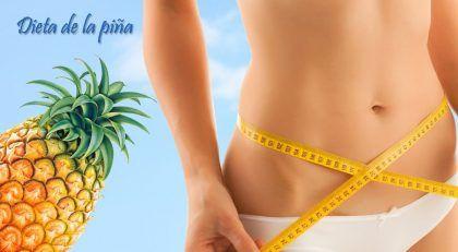 Dieta de la piña elimina todos los kilos que desees!!