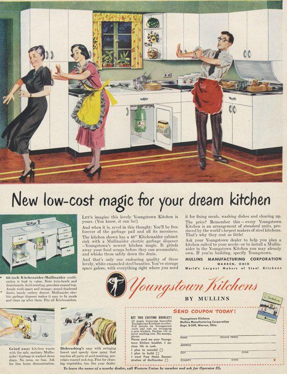 Vintage Retro Youngstown Mullins Steel Metal Kitchen Washboard Sink Metal Kitchen Vintage Kitchen Sink Sink