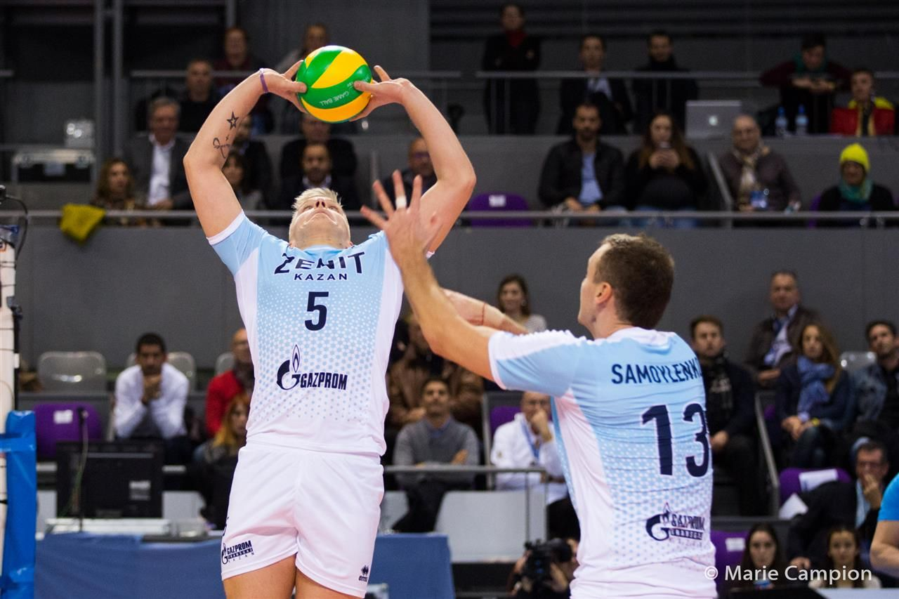 Zenit Kazan Proves Too Tough For Toulouse In Champions League Champions League Volleyball News Champion