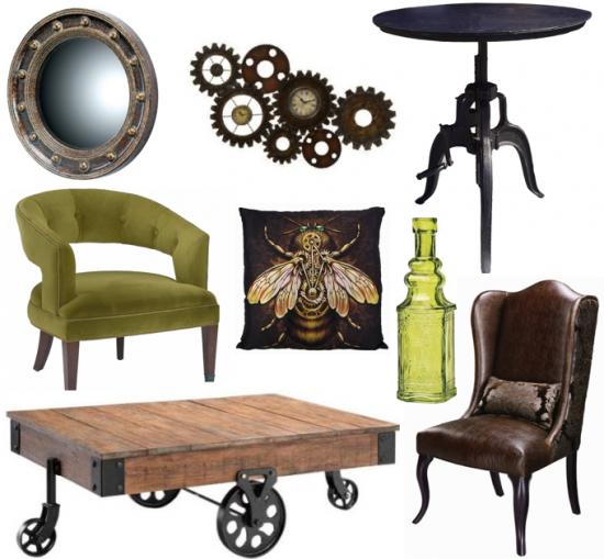 pingl par lotus sur steampunk deco accessories pinterest deco decoration et maison. Black Bedroom Furniture Sets. Home Design Ideas