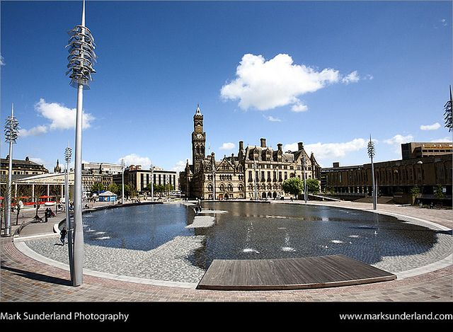 City Park, Bradford, West Yorkshire, England