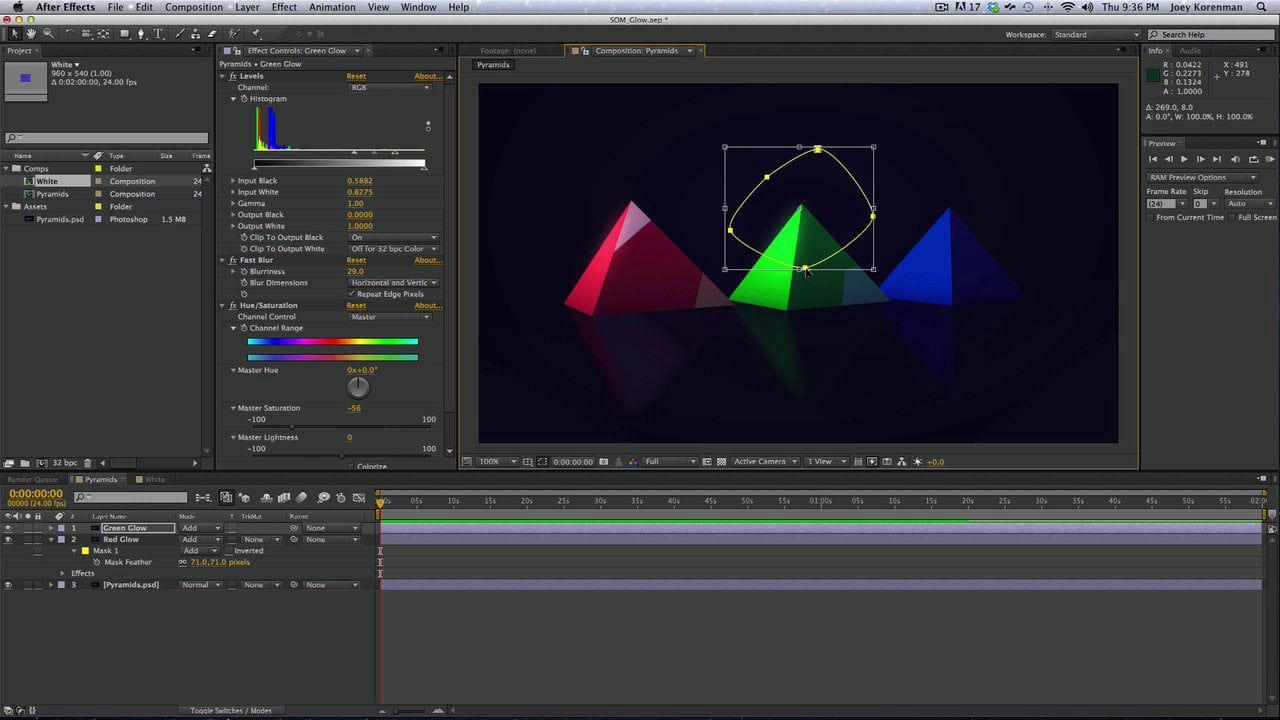 Better Glows In After Effects On Vimeo After Effects After