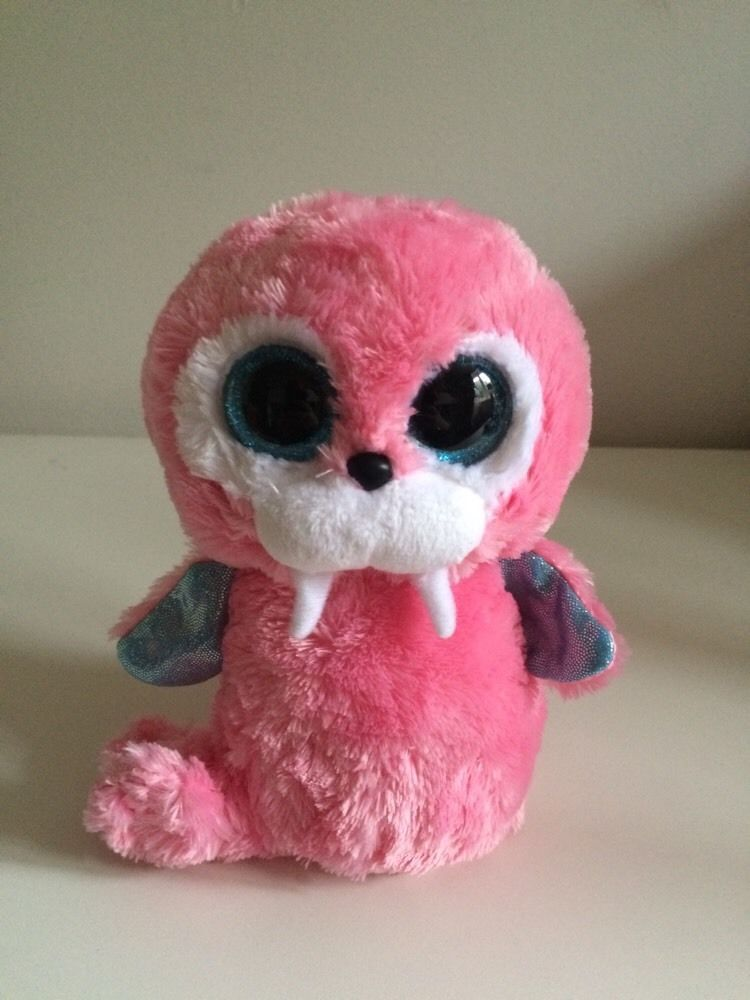 IN HAND NEW Ty Beanie Boo TUSK Pink WALRUS Plush Soft toy Read ... fb45b181d947