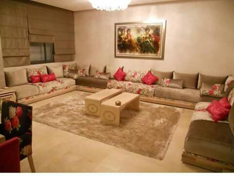 salon marocain salons marocains en 2019 salon. Black Bedroom Furniture Sets. Home Design Ideas