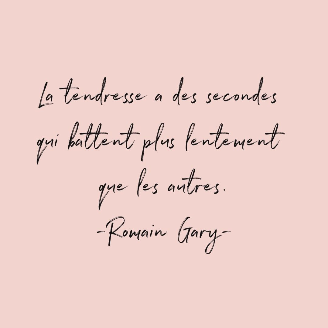 La Tendresse Citations Tendresse Citation Citations Sympa