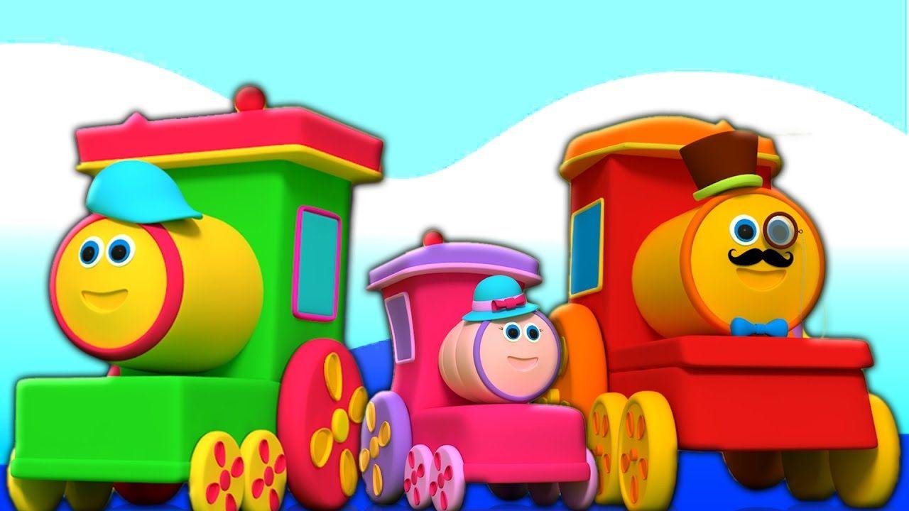 Bob Kereta Api Anak Anak Belajar